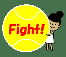 TENNIS sticker #1403019