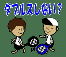 TENNIS sticker #1403023