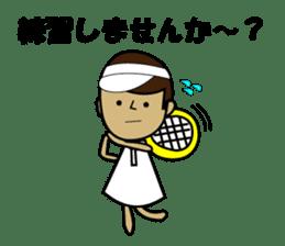 TENNIS sticker #1403024