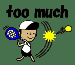 TENNIS sticker #1403032