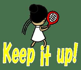 TENNIS sticker #1403042