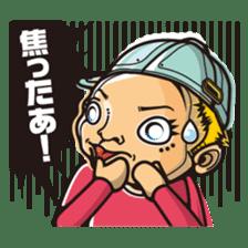DK characters4 sticker #1403110
