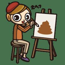 DK characters4 sticker #1403123