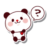 The stuffed animal of a Panda sticker #1403530