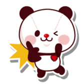 The stuffed animal of a Panda sticker #1403532