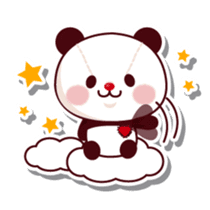 The stuffed animal of a Panda sticker #1403538