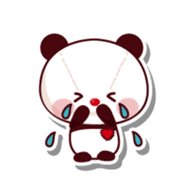 The stuffed animal of a Panda sticker #1403542