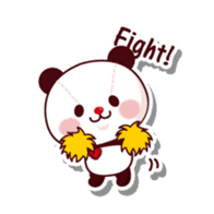 The stuffed animal of a Panda sticker #1403545