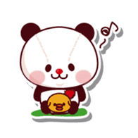 The stuffed animal of a Panda sticker #1403546