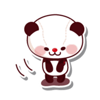The stuffed animal of a Panda sticker #1403549