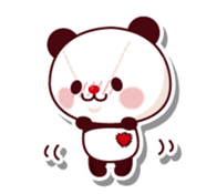 The stuffed animal of a Panda sticker #1403557