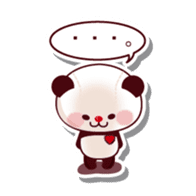 The stuffed animal of a Panda sticker #1403567
