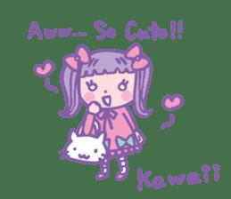 Amaloli&GothLoli(English.ver) sticker #1403628