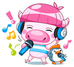 Chompoo & Mameaw (English Edition) sticker #1404050
