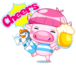 Chompoo & Mameaw (English Edition) sticker #1404051