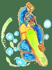 BLUE GORILLA 2 sticker #1408381