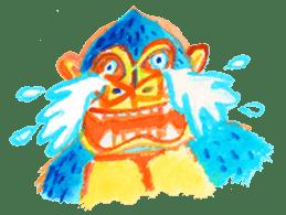 BLUE GORILLA 2 sticker #1408383