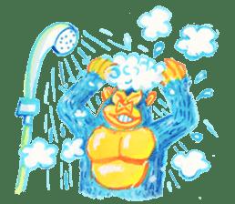 BLUE GORILLA 2 sticker #1408389