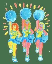 BLUE GORILLA 2 sticker #1408396