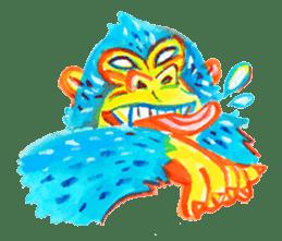 BLUE GORILLA 2 sticker #1408401