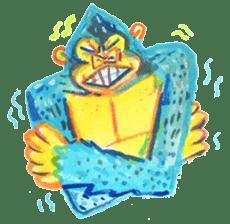 BLUE GORILLA 2 sticker #1408408