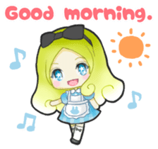 Alice day-to-day (English ver.) sticker #1410410
