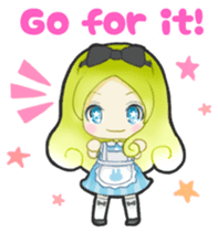 Alice day-to-day (English ver.) sticker #1410411