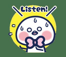 Vol. 2 Shiromaru (Kuromaru appeared) sticker #1411217