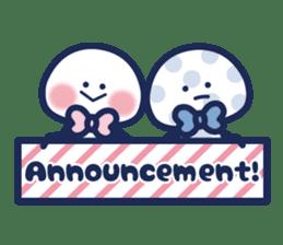 Vol. 2 Shiromaru (Kuromaru appeared) sticker #1411226