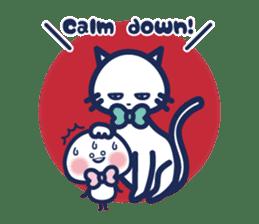 Vol. 2 Shiromaru (Kuromaru appeared) sticker #1411244