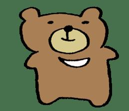 Mr moon bear sticker #1411970