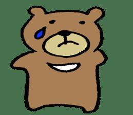 Mr moon bear sticker #1411973
