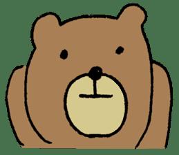 Mr moon bear sticker #1411995