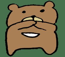 Mr moon bear sticker #1411996