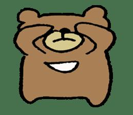 Mr moon bear sticker #1411997