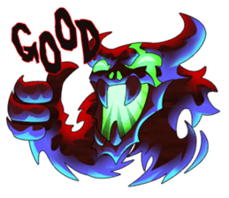 Fierce devil of Seele sticker #1412973