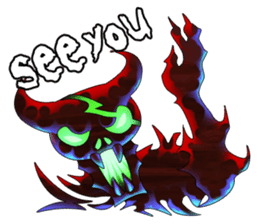 Fierce devil of Seele sticker #1412982