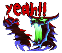 Fierce devil of Seele sticker #1412994