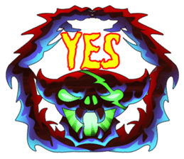 Fierce devil of Seele sticker #1412996