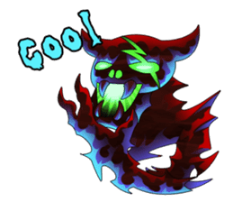 Fierce devil of Seele sticker #1413006