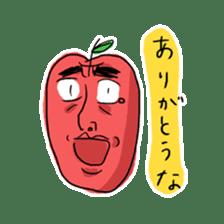 Mr.Apple. My brother! sticker #1414061