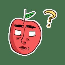 Mr.Apple. My brother! sticker #1414076