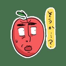 Mr.Apple. My brother! sticker #1414081