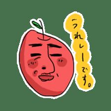 Mr.Apple. My brother! sticker #1414084