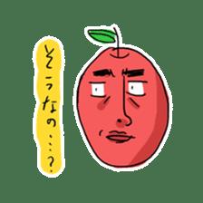 Mr.Apple. My brother! sticker #1414087