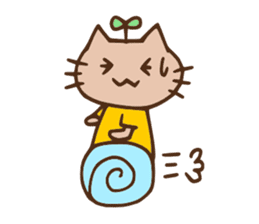 Daily life sticker of nyannta. sticker #1415593