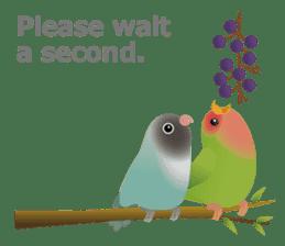 Love Birds sticker #1417054