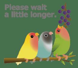 Love Birds sticker #1417055