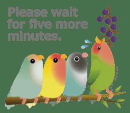 Love Birds sticker #1417056