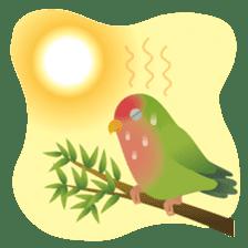 Love Birds sticker #1417058